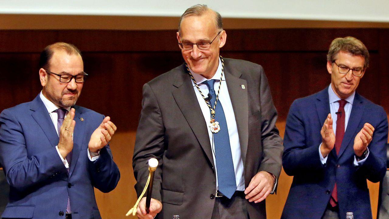 Nombramiento del Nuevo rector de vigoNombramiento del Nuevo rector de vigo.Foto de archivo de Francisco Jorquera