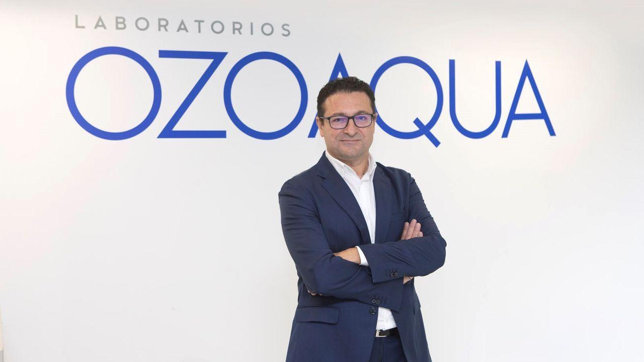 Pablo Brea, gerente de Laboratorios Ozoaqua