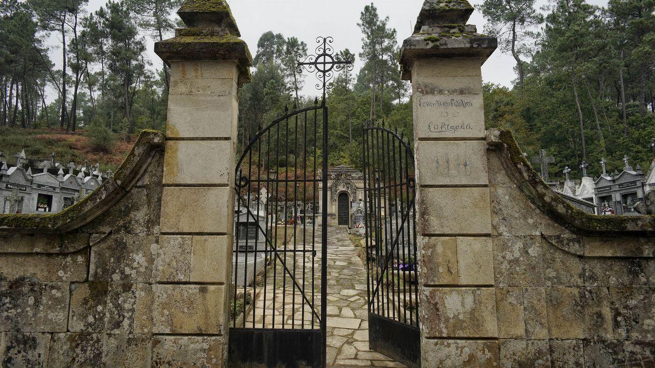 Cementerios singulares de Ourense..Cementerio de Cortegada.