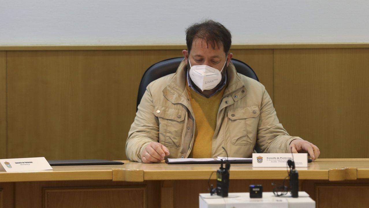 Xosé Lois García Carballido, alcalde socialista de Ponteceso