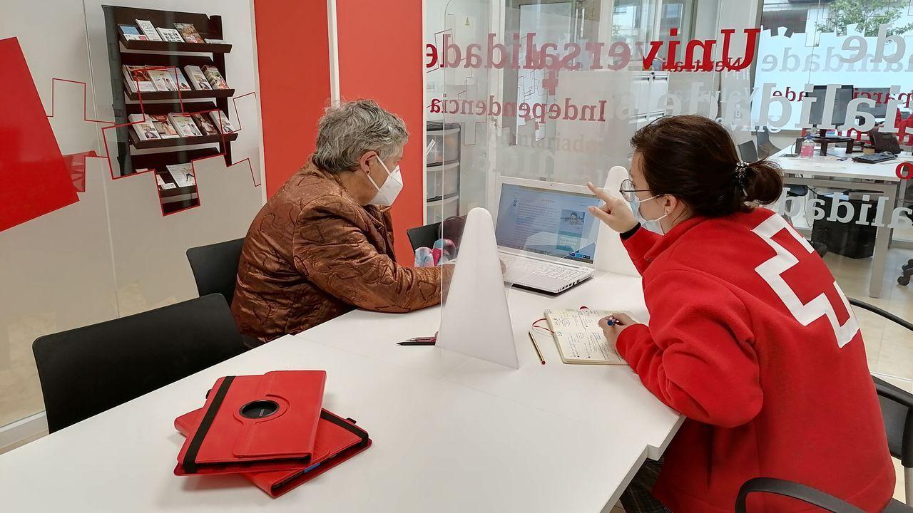 Sonia López y Mónica Devesa son las técnicas que gestionan el programa en la provincia