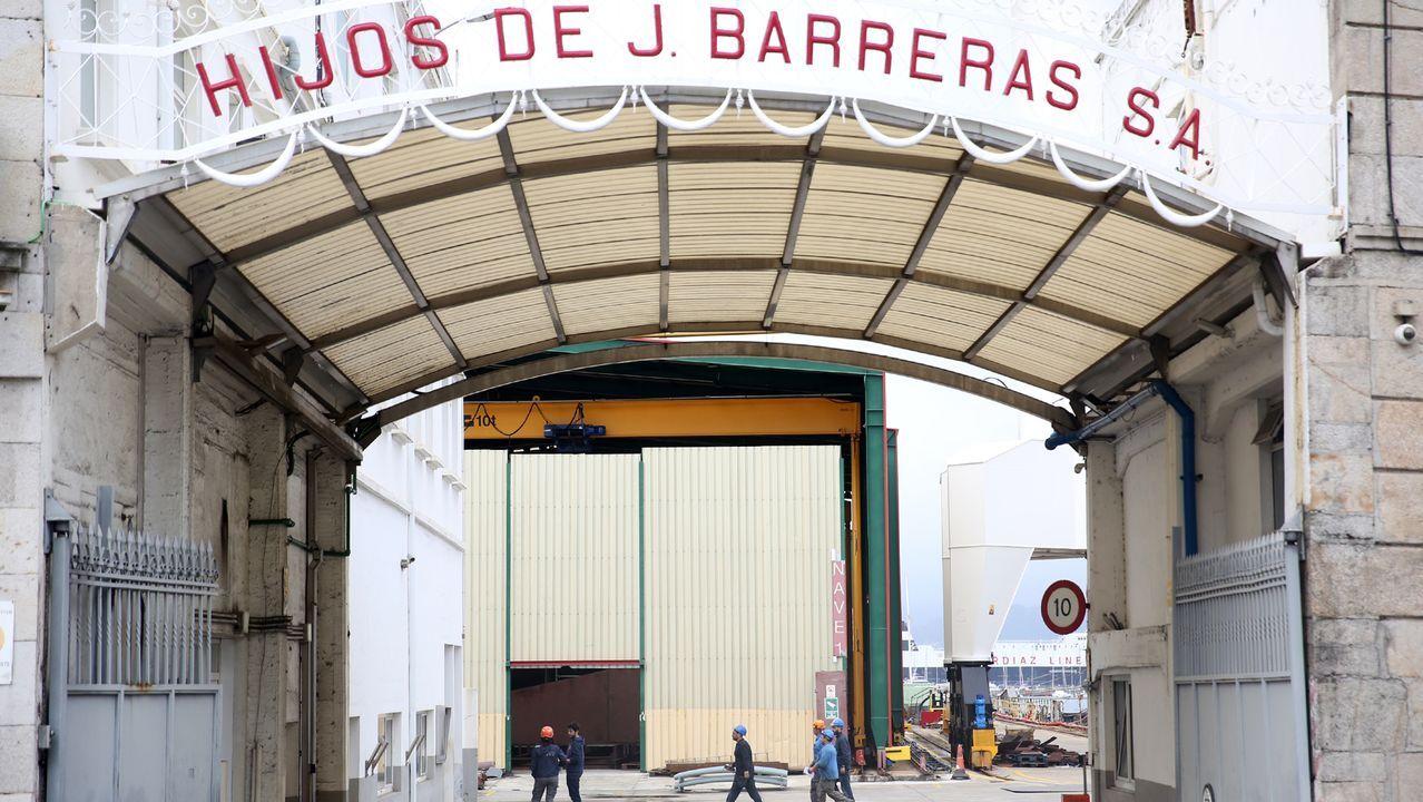 Concentración Vulcano en los juzgados para evitar el ERE extintivo.El expresidente de Barreras García Costas
