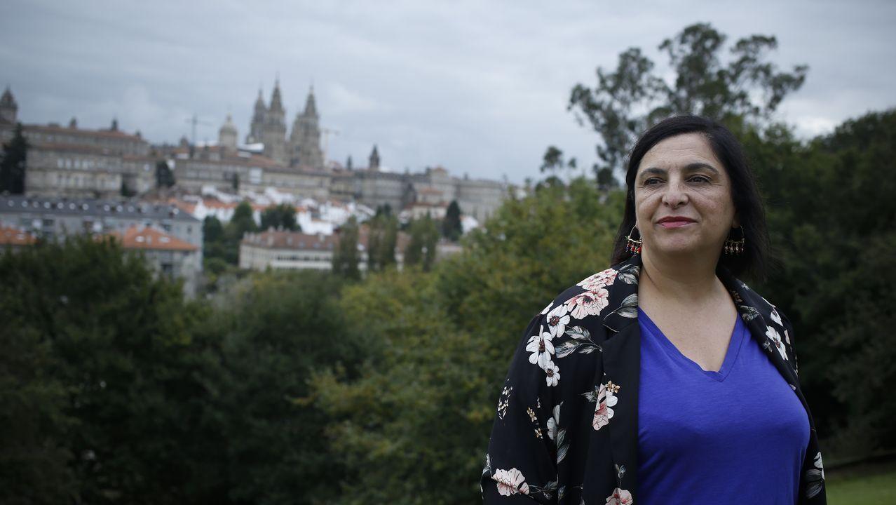 Marta Ortega luce embarazo en Casas Novas.El irlandés Denis Lynch se mostró intratable en la prueba reina del sábado