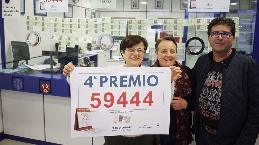 Administración de Vilalba que vendió parte del cuarto premio