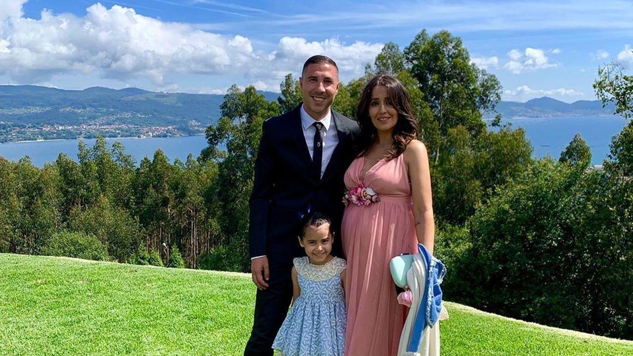 Vicente Iborra, con su pareja