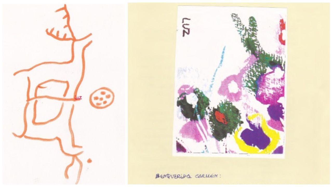 Dúas mostras da correspondencia de Luz Pozo con Carmen Blanco e Claudio Rodríguez Fer