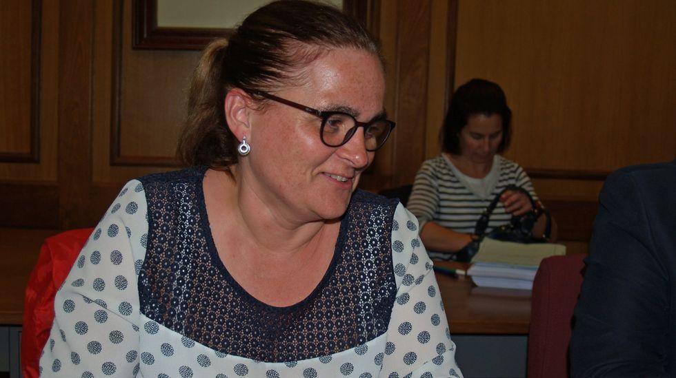 Elena Espinosa, en el pleno de constitución celebrado tras las últimas elecciones locales