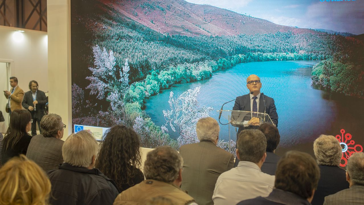 La Diputación de Ourense presentó en Fitur su proyecto de provincia inteligente