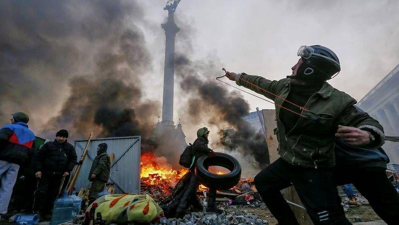 Graves enfrentamientos en Ucrania