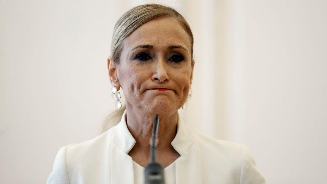 La jueza del caso Cifuentes investiga también el máster de Pablo Casado.Cristina Cifuentes