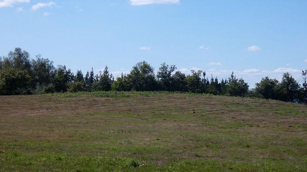 Lass mámoas están a una altitud que oscila entre 500 y 600 metros