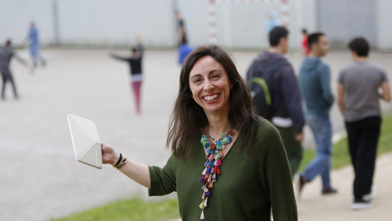 Elba Pedrosa, autora de «O que non sabías»