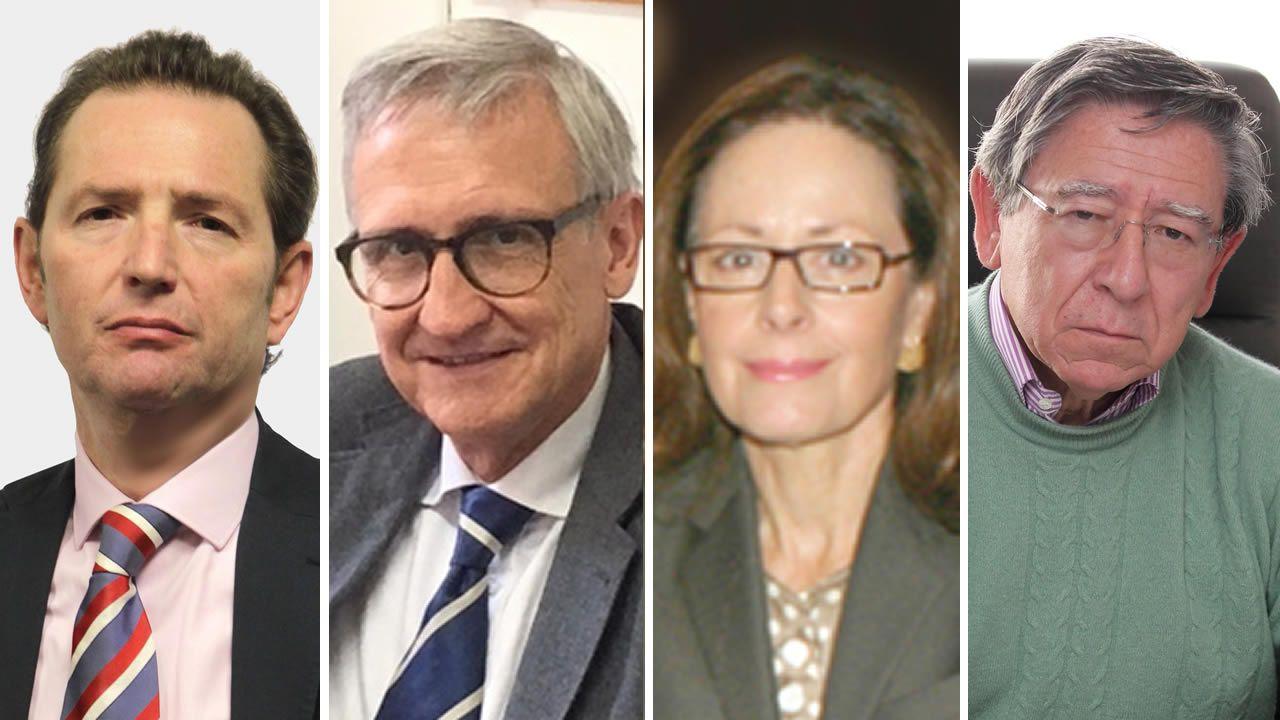 Roberto Blanco, Xavier Arbós, Yolanda Gómez y A.Torres del Moral