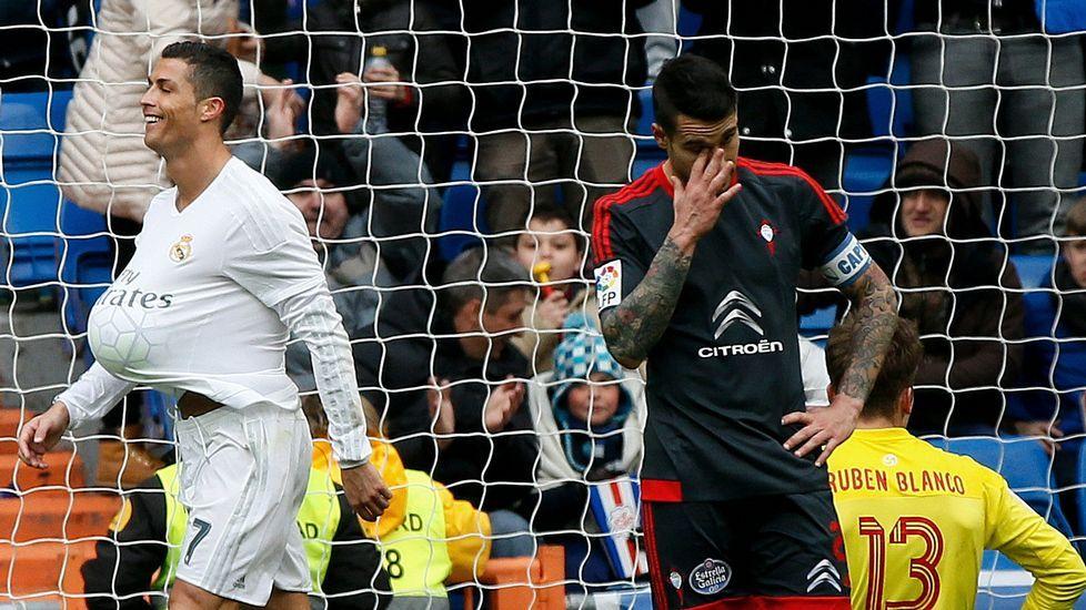 Real Madrid - Celta, en imágenes