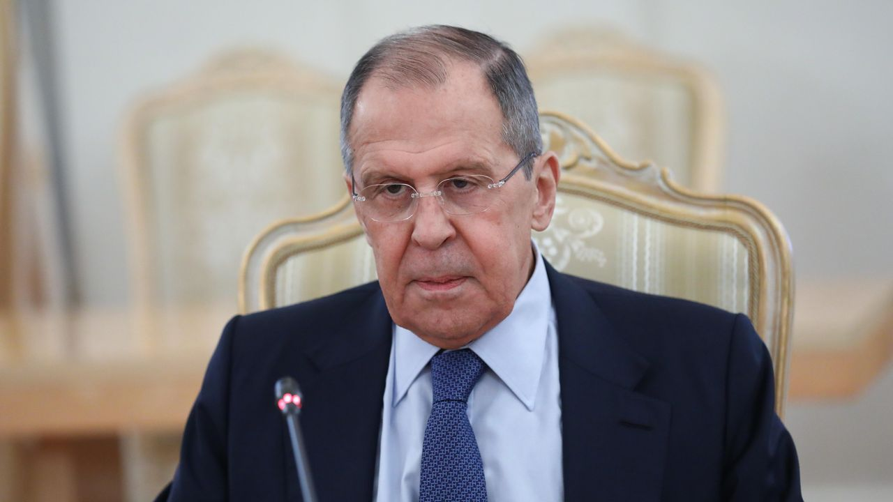 El ministro de Exteriores ruso, Sergeuéi Lavrov.