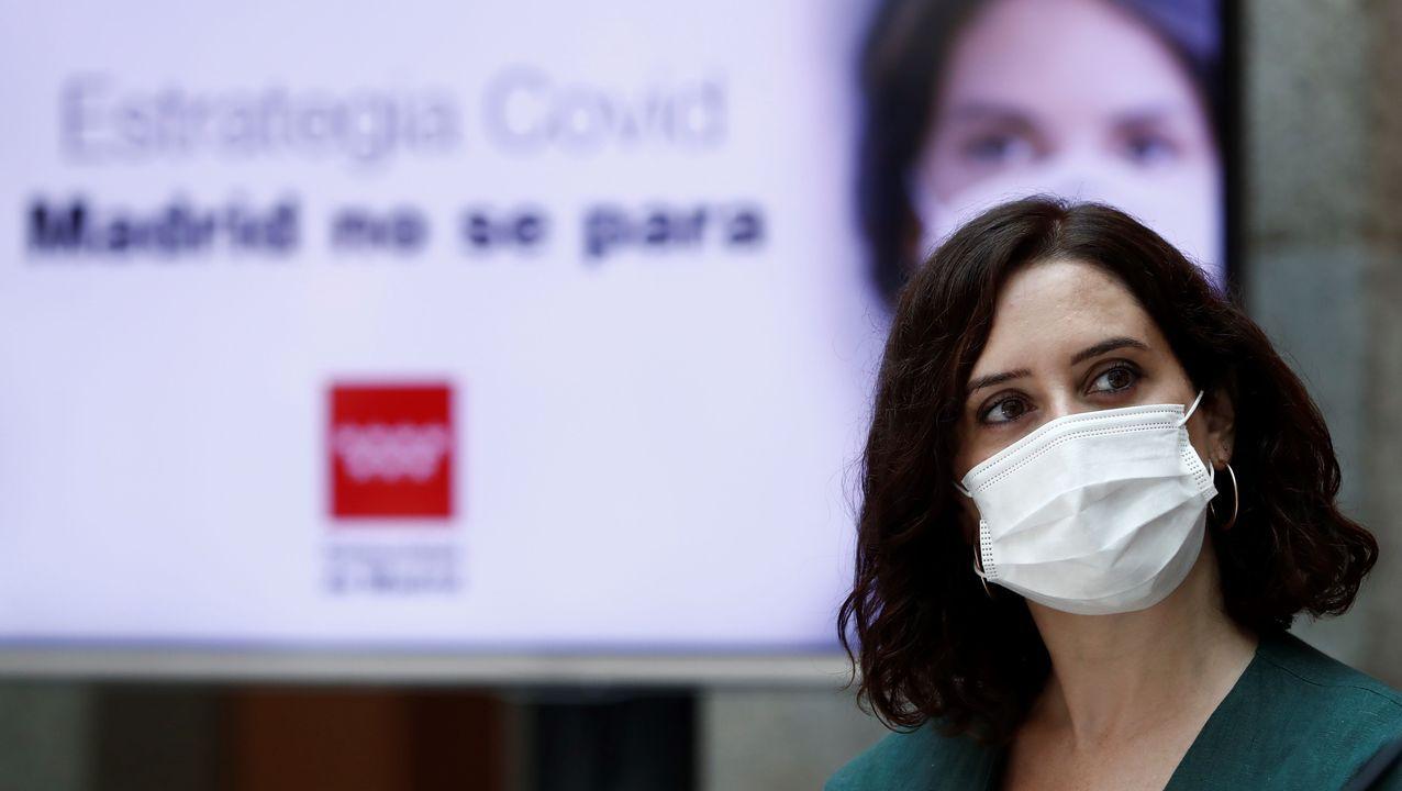 24 de los 27 concejales de Ourense piden la dimisión del alcalde.Isabel Díaz Ayuso