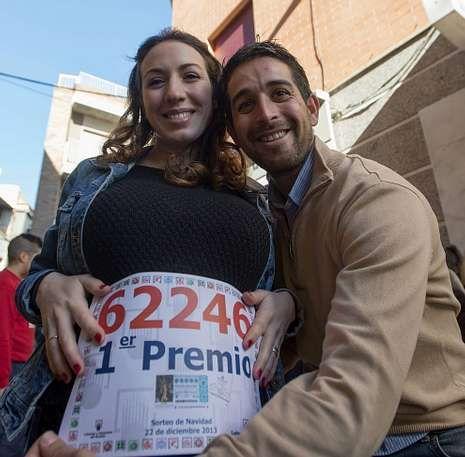Pedro y Noelia gastarán parte del premio en el bebé que esperan.
