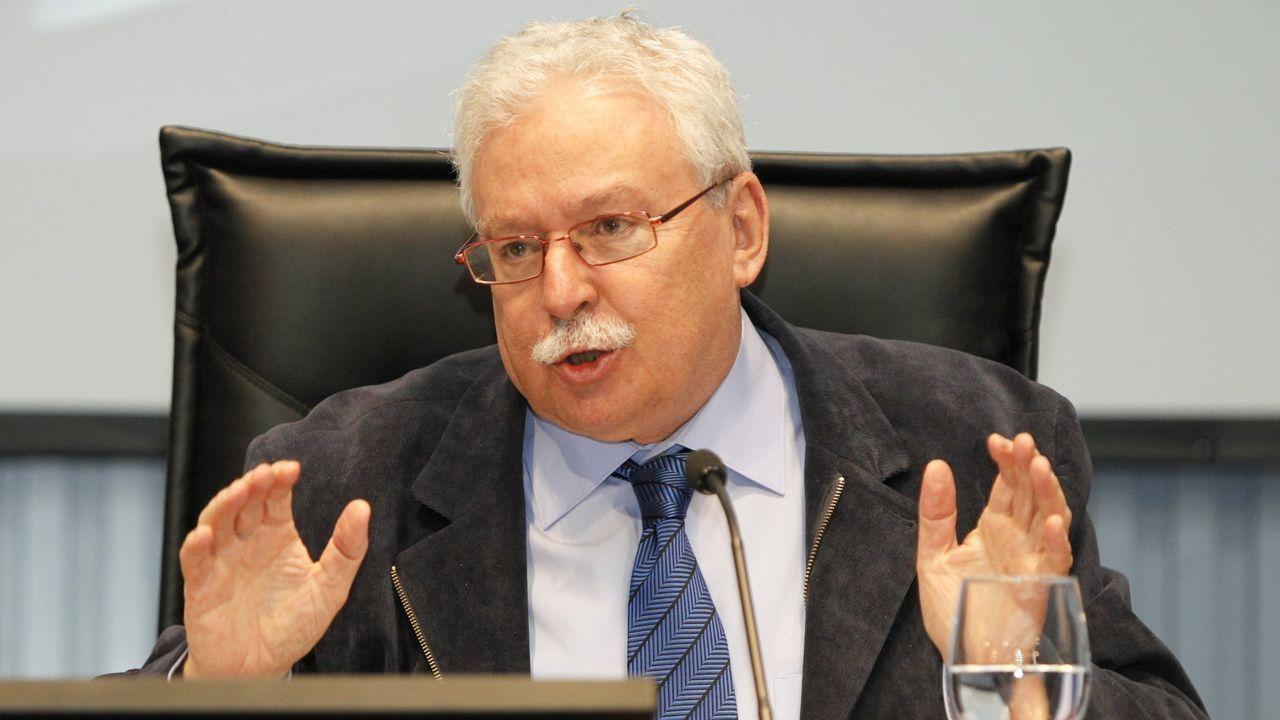 El expresidente de la Comunidad de Madrid, Joaquín Leguina