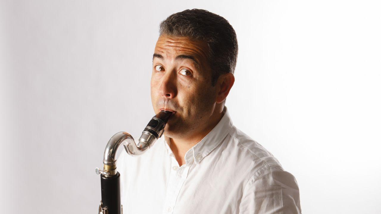 Santiago Noriega, clarinetista viveirense