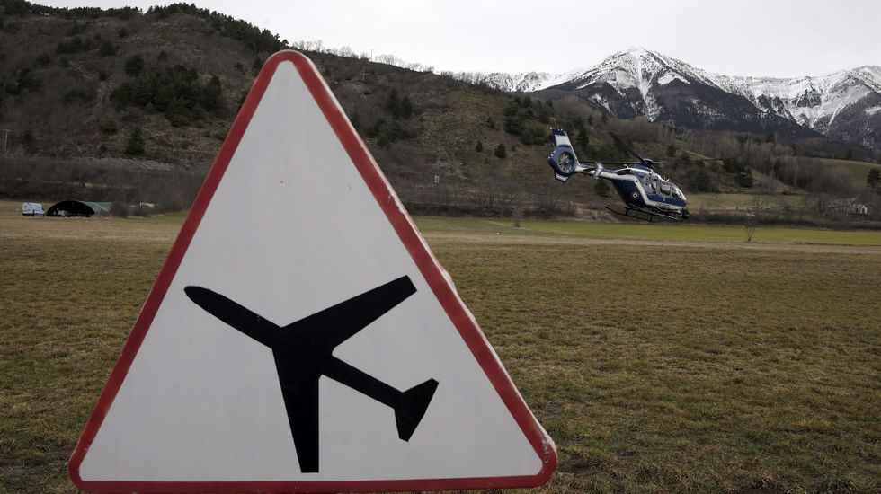 Las imágenes del accidente aéreo de Germanwings