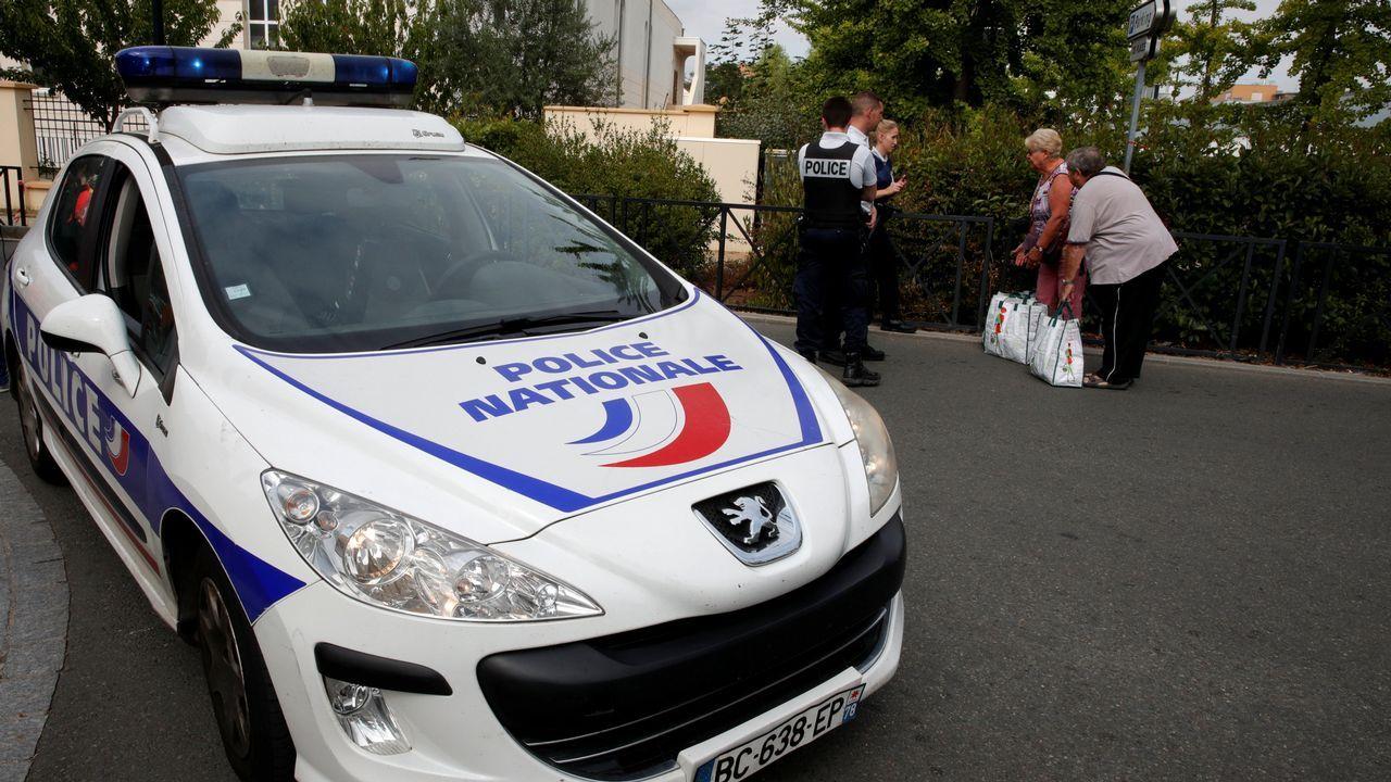 Lugar del último ataque de un presunto terrorista yihadista en Trappes, Francia