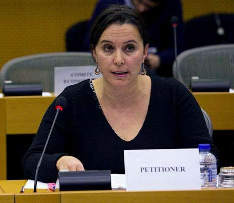 Ana Miranda es candidata del BNG.