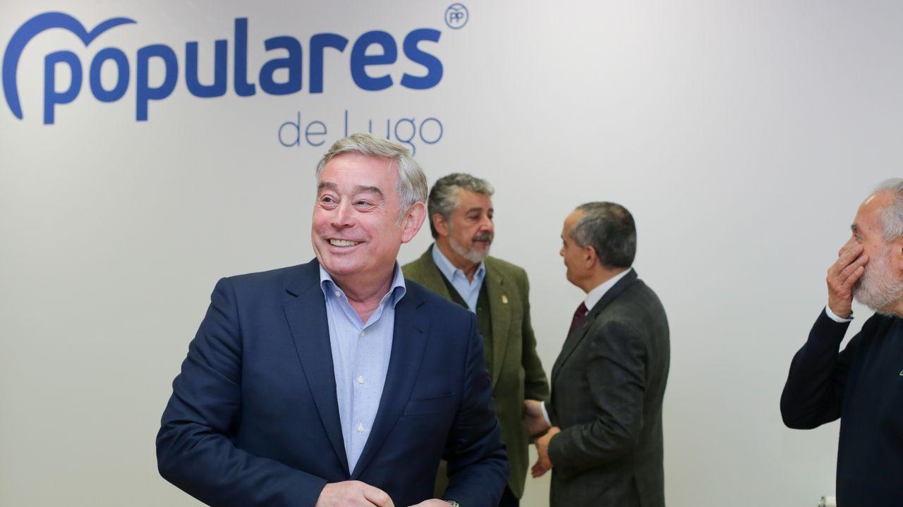 Representantes gallegos en las comisiones de Congreso y Senado.Jaime de Olano, vicesecretario de Participación del PP