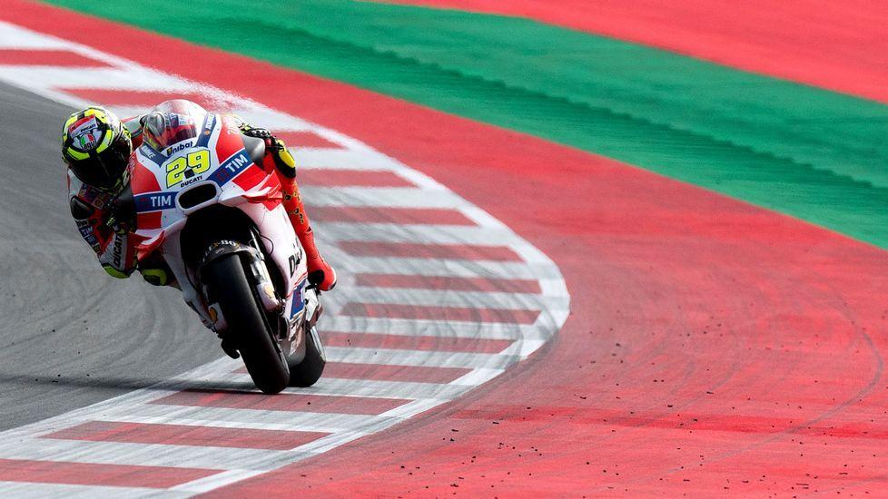 Márquez, tricampeón del mundo.Marc Márquez