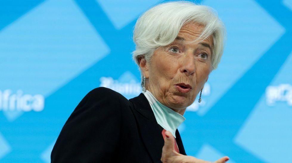 La directora del FMI a un ministro argentino: «Estás corto de mujeres».Ivanka Trump, Christine Lagarde y Angela Merkel