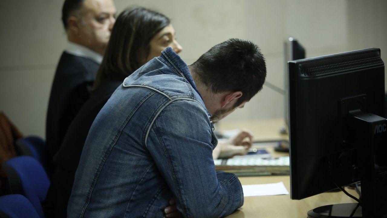 El Chicle en la sexta jornada del juicio en el que es el único acusado por la muerte de Diana Quer
