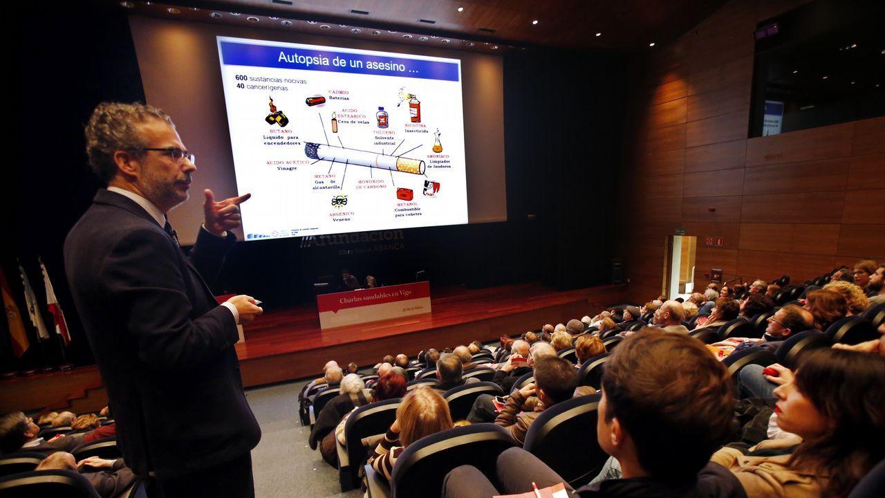 Charla saludable sobre enfermedades respiratorias en Vigo