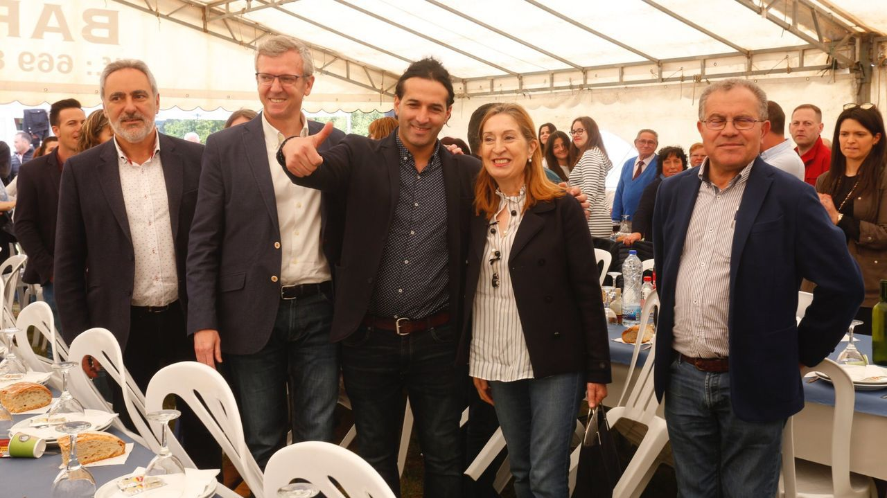 Mitin de presentación de Manuel Vázquez como candidato a las elecciones en Cuntis en el 2019