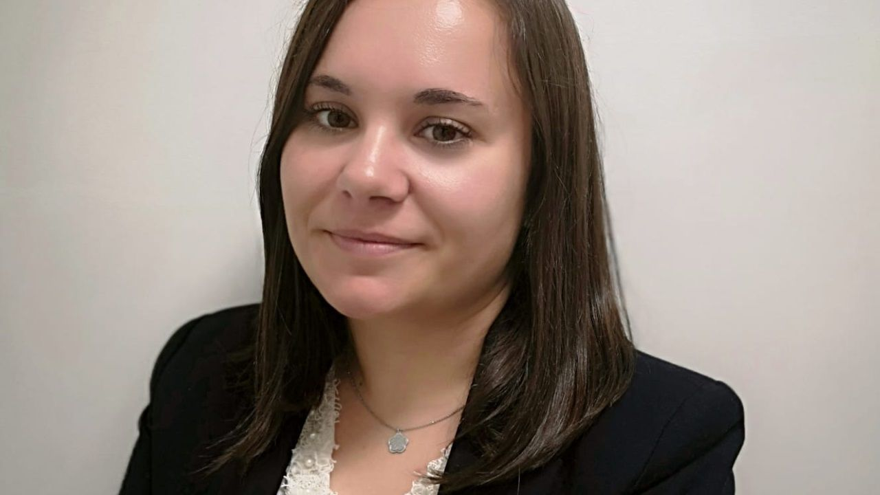 Andrea García trabaja en las oficinas centrales de NH en Madrid