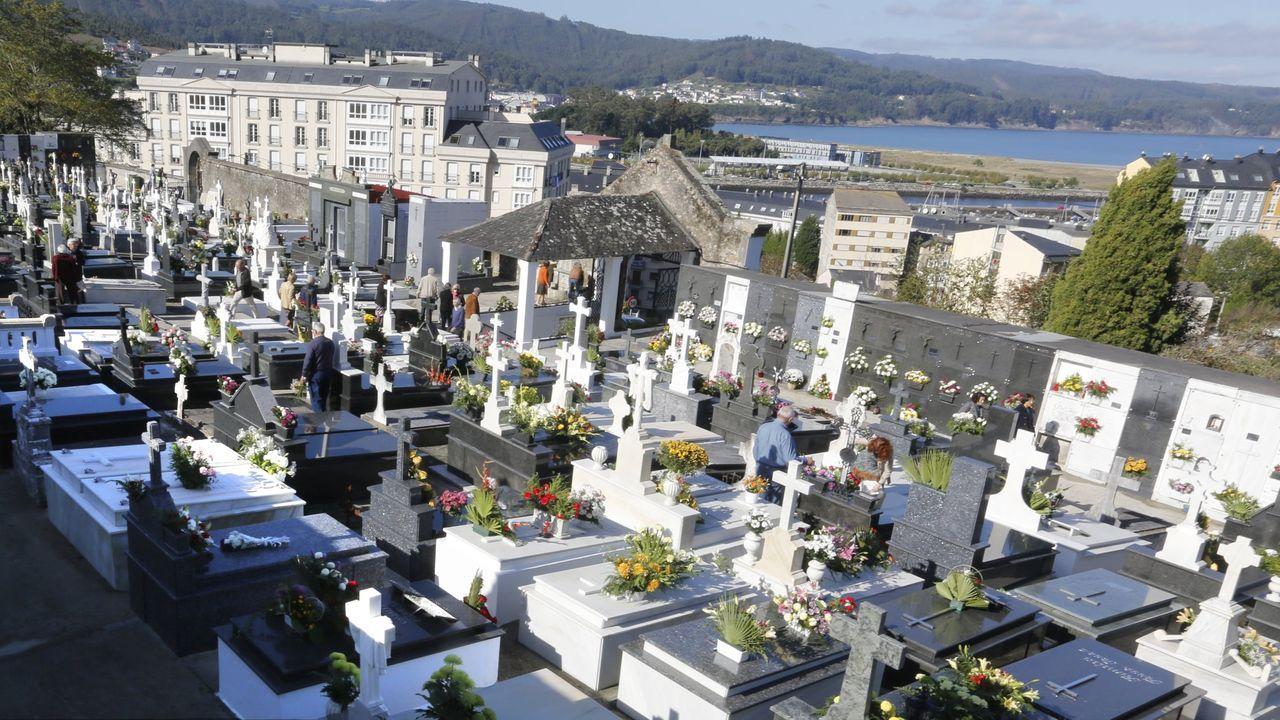 Cementerios como el de Viveiro, en imagen, preparan medidas especiales para prevenir contagios del covid-19 durante la festividad de Todos los Santos