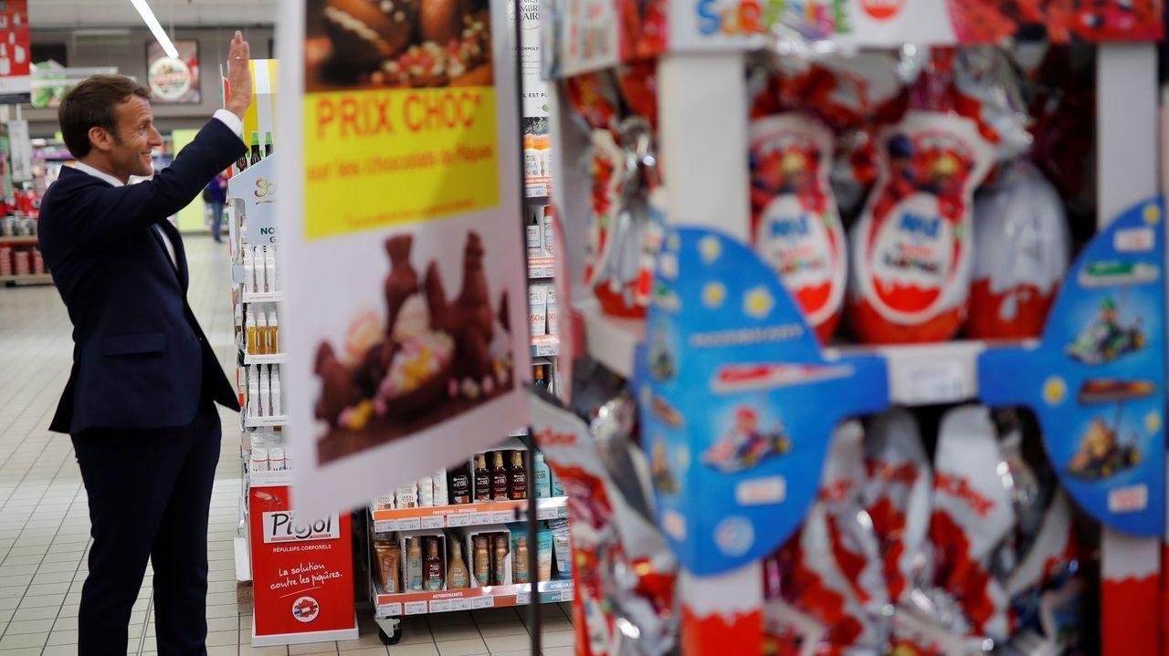 El presidente francés quiere que el uso de mascarillas en el transporte público sea obligatorio