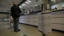 Venta de billetes de tren en la estacion de A Coruña