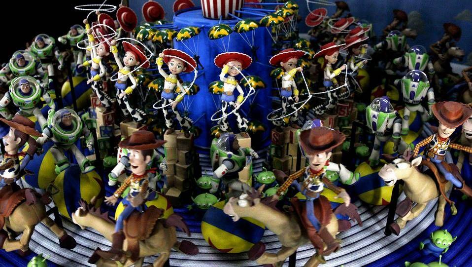 Toy Story.Exposición «Pixar. 25 años de animación»