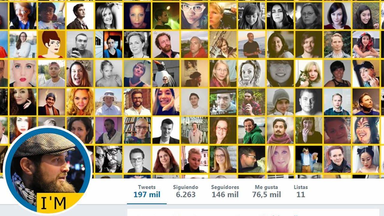 Saludo fascista en la Plaza del Fresno.Captura del perfil de Twitter @sweden