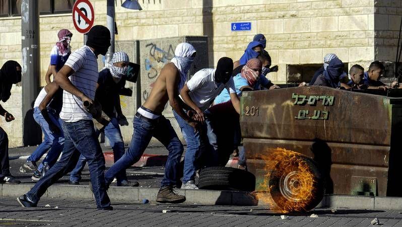 La tensión aumenta en Jerusalén.Protestas en la frontera