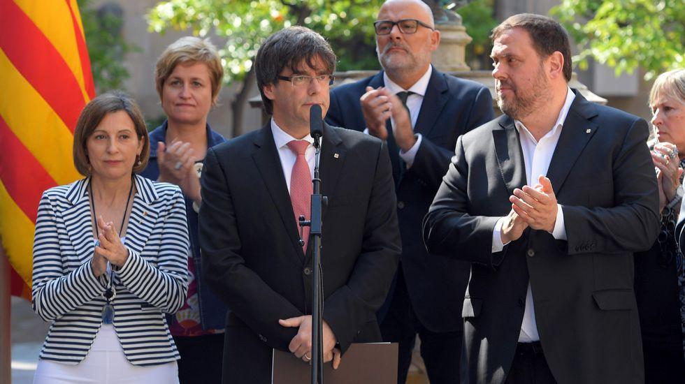 Esto es lo que han dicho los políticos sobre el 1-O.Pedro Sánchez