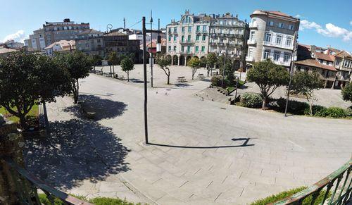 Praza da Ferrería (Pontevedra).