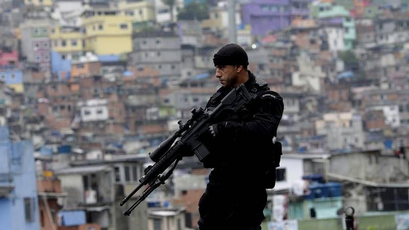La policía llega a Rocinha