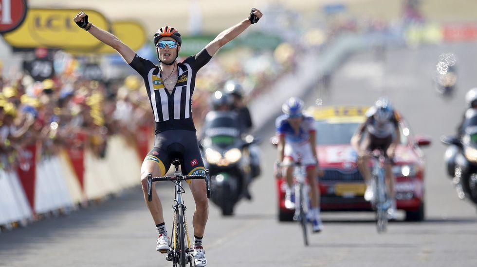 Quinta etapa del Tour: Cummings gana en Mende