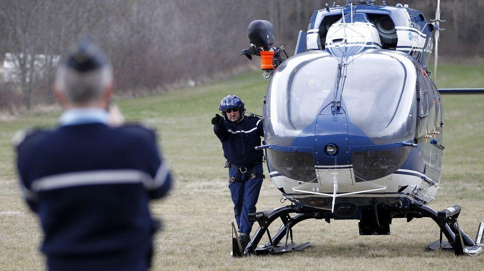 Rajoy se entera del accidente de Germanwings en Vitoria