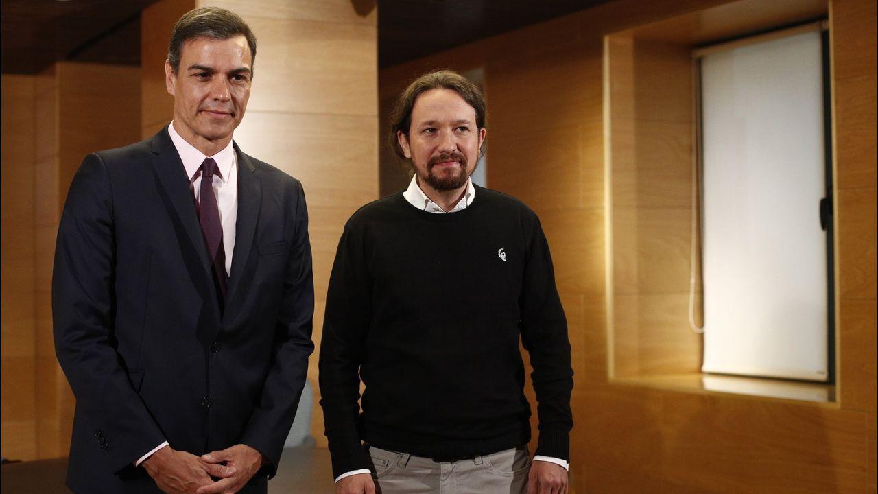 Sánchez e Iglesias concluyeron su reunión sin avances