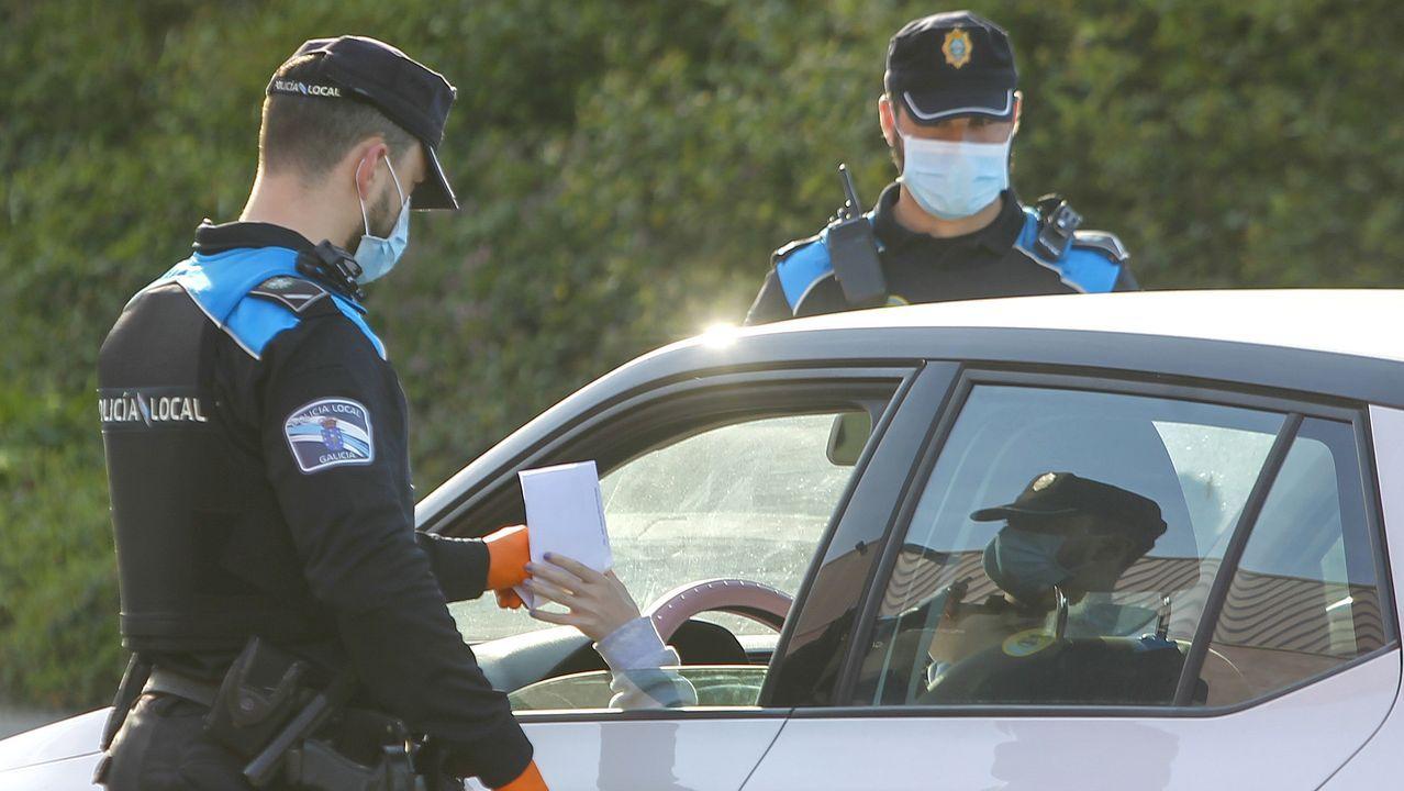 Control de la Policía Local de Gijón