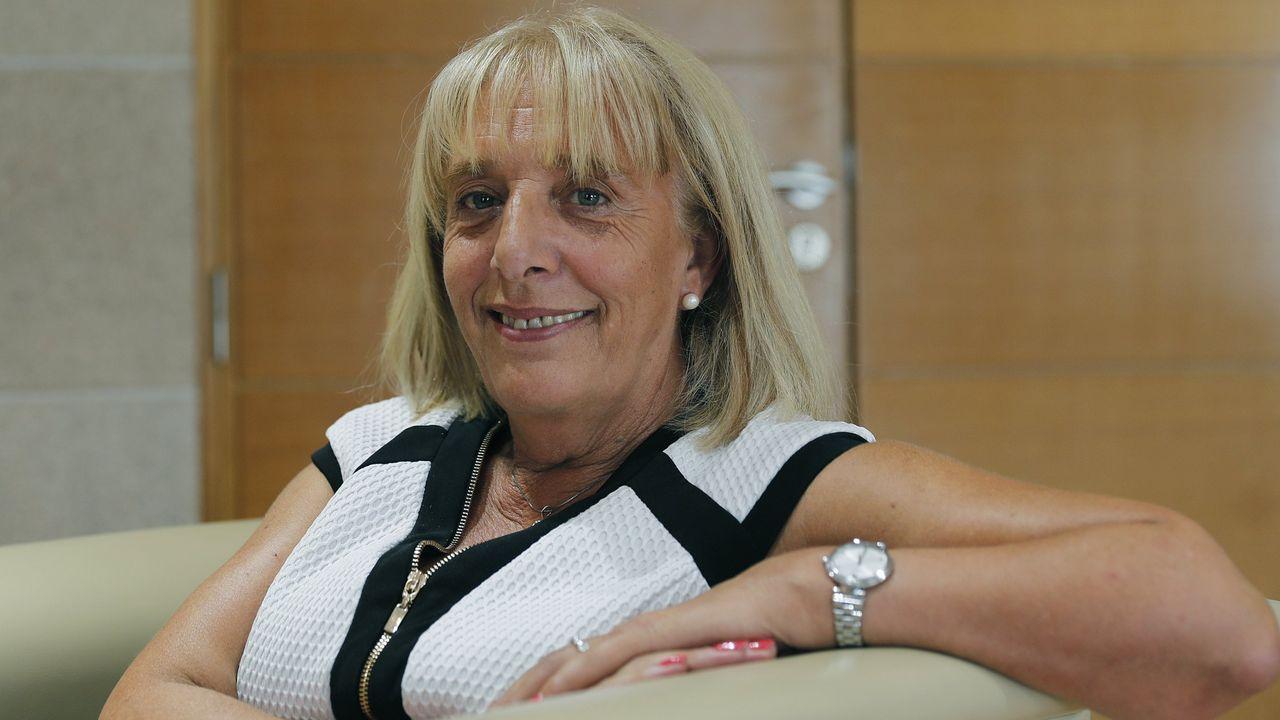 Marisol Nóvoa, presidenta de la CEO, intervino en la presentación de la actividad