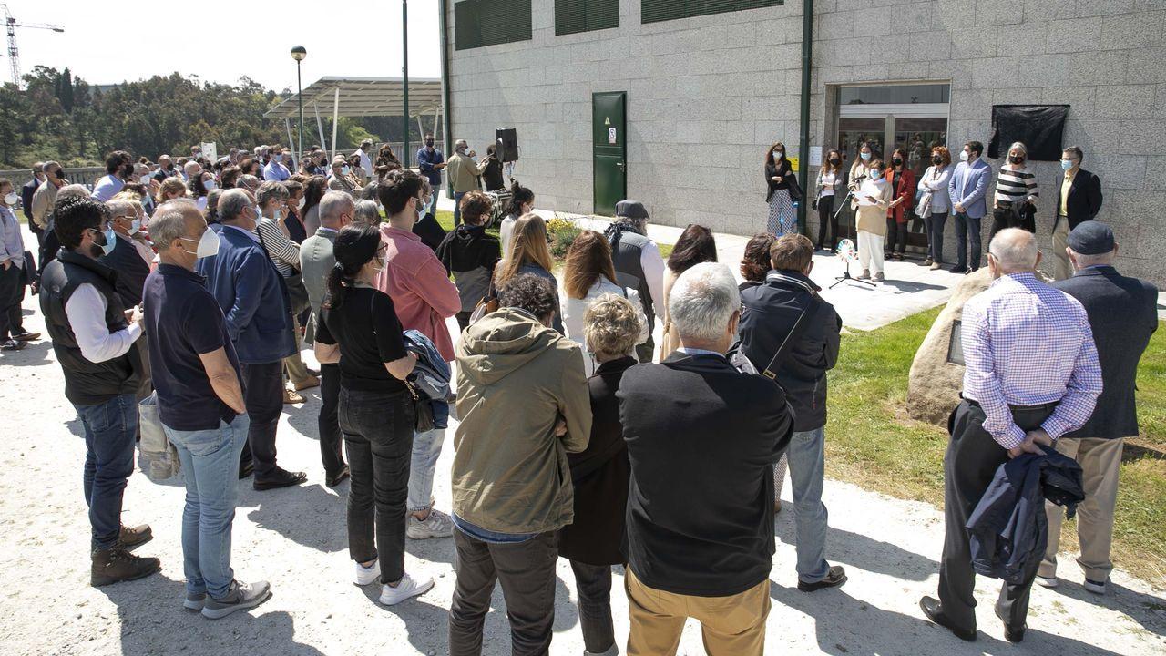Ángeles Vázquez, conselleira de Medio Ambiente, Territorioe Vivenda: «Non hai barra libre para os parques eólicos en Galicia».Emmanuel Carrère