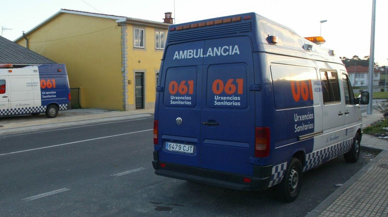 Ambulancia del 061, en una fotografía de archivo