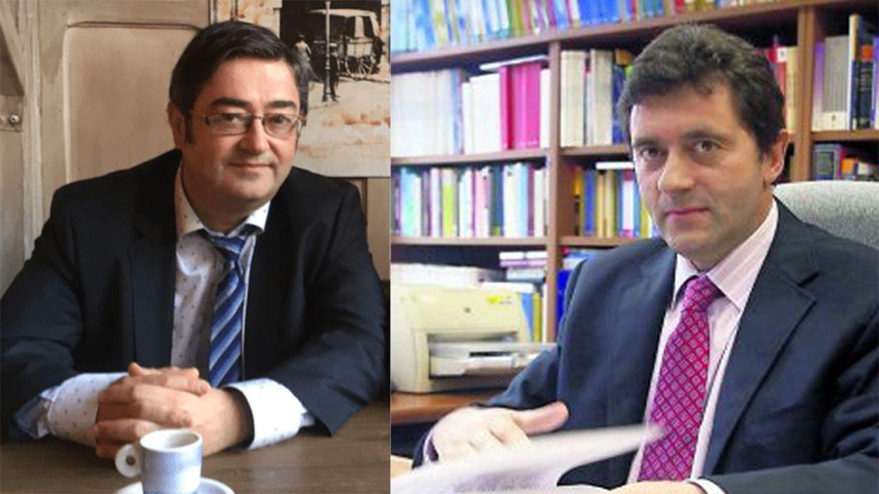 José Ramón Chaves García y David Ordóñez Solís